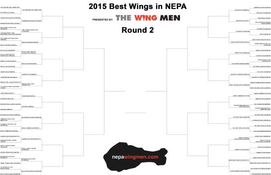 2015 Best Wings in NEPA_Round 2